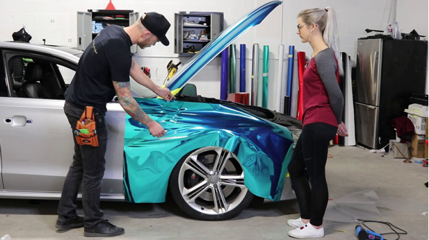 The Multiple Stages Of Car Body Wrap For Better Results